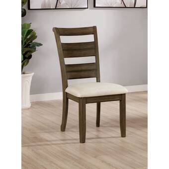 Union Rustic Seery Upholstered Dining Chair Wayfair