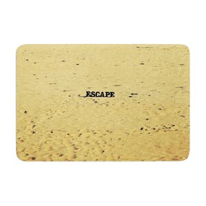 Robin Dickinson Escape Beach Sand Memory Foam Bath Rug