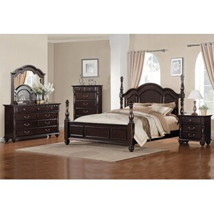 Townsford Four Poster Bed by Woodhaven Hill