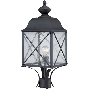 Topeka Outdoor 1-Light Lantern Head By Three Posts Outdoor Lighting