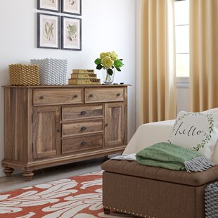Quevillon 5 Drawer Combo Dresser by Lark Manor