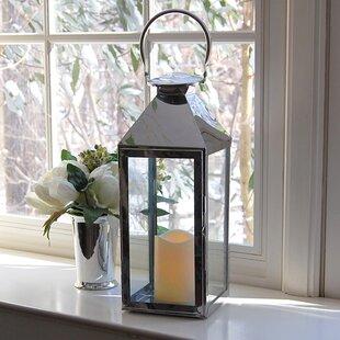 Metal Lantern By LumaBase Outdoor Lighting