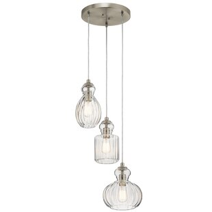 Mcdougal 3-Light Cluster Penda..