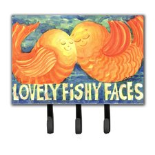 Kissing Fish Leash Holder and Key Hook by Caroline's Treasures