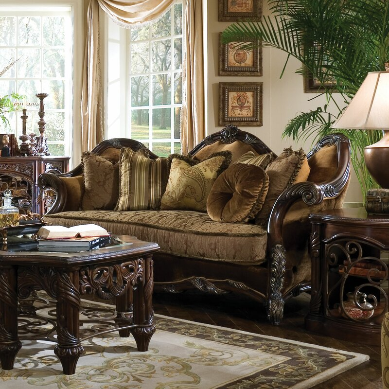 Traditional Living Room Collections michael amini living room set. aico living room set chateau