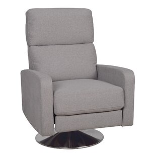 Roux Push Back Manual Swivel Recliner