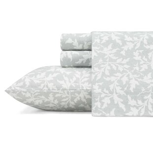 Crestwood 100% Cotton Sheet Set by Laura Ashley Home