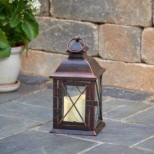 Read Reviews Aversa Metal Lantern By Smart Living