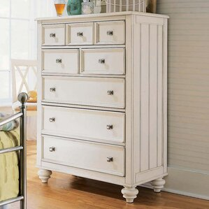 Wheelock 5 Drawer Chest by Beachcrest Home