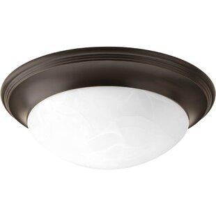 Charlton Home Kildare 2-Light Flush Mount