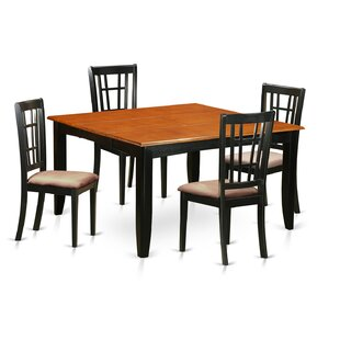 Pilning 5 Piece Extendable Dining Set August Grove