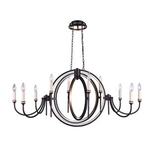 CWI Lighting 10-Light Chandelier