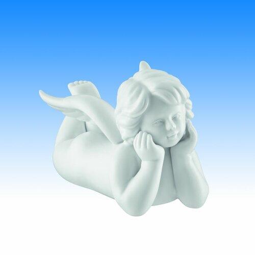 Dekorationsfigur Engel liegend McMillian Die Saisontruhe Größe: 11 cm H x 15 cm W x 12 cm T | Dekoration > Figuren und Skulpturen > Engel | Die Saisontruhe