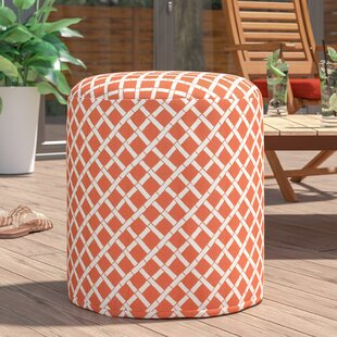 Gilbertown Small Pouf by Ebern Designs