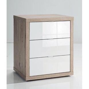 Amalda 3 Drawer Filing Cabinet By Ebern Designs