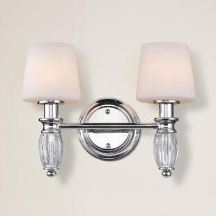 Pondsdale 2-Light Vanity Light By Alcott Hill Wall Lights