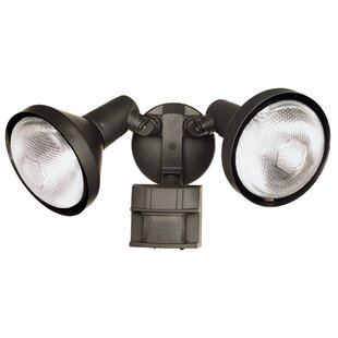 Motion-Sensing Outdoor Security Spotlight by Heathco
