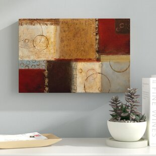 u0027Seasons Go Round IIu0027 Graphic Art Print on Wrapped Canvas & 4 Seasons Wall Art | Wayfair