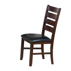 Stanley PU Ladder Back Side Chair by Alco..