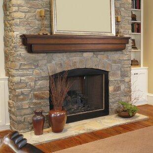 The Auburn Fireplace Shelf Mantel ByPearl Mantels