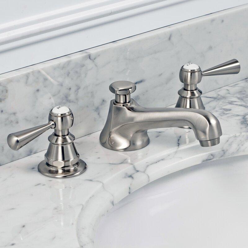 Dcor Design Carlson Widespread Bathroom Faucet With Drain Assembly Reviews Wayfair