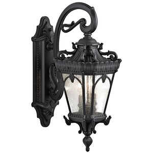 Tournai 2-Light Outdoor Wall Lantern