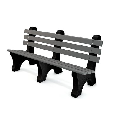 Aiden Recycled Plastic Park Bench by Freeport Park