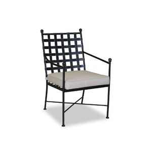 Provence Patio Dining Chair with Cushion