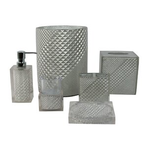 Prizm 6 Piece Bathroom Accessory Set