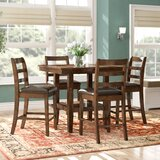 Gosselin Contemporary 5 Piece Dining Set by Alcott Hill®