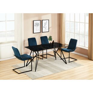 Sariyah 5 Piece Dining Set Brayden Studio