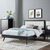 Knibbs Tufted Platform Bed by Corrigan Studio®