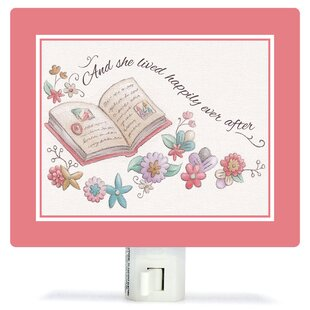 Oopsy Daisy Once Upon a Time - Happily Ever After by Sarah Lowe Canvas Night Light