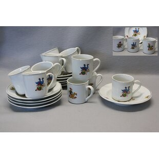 Whittington Porcelain 20 Piece Teacup Set