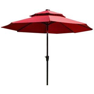 9' Market Umbrella by Adeco Trading