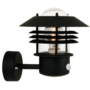 Review Vejers 1 Light Outdoor Sconce With Motion Sensor