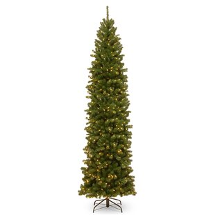 8 Foot & 9 Foot Slim Christmas Trees You'll Love | Wayfair