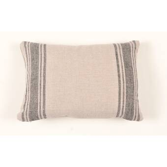 Eastern Accents Barclay Butera Mitered Ribbon Linen Throw Pillow Wayfair