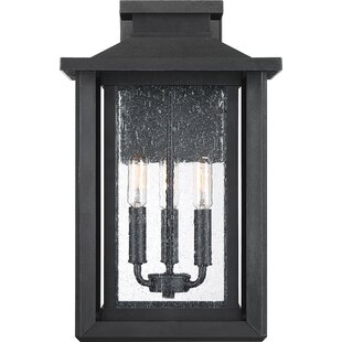 Higuchi 3-Light Outdoor Wall Lantern by Alcott Hill Read Reviews