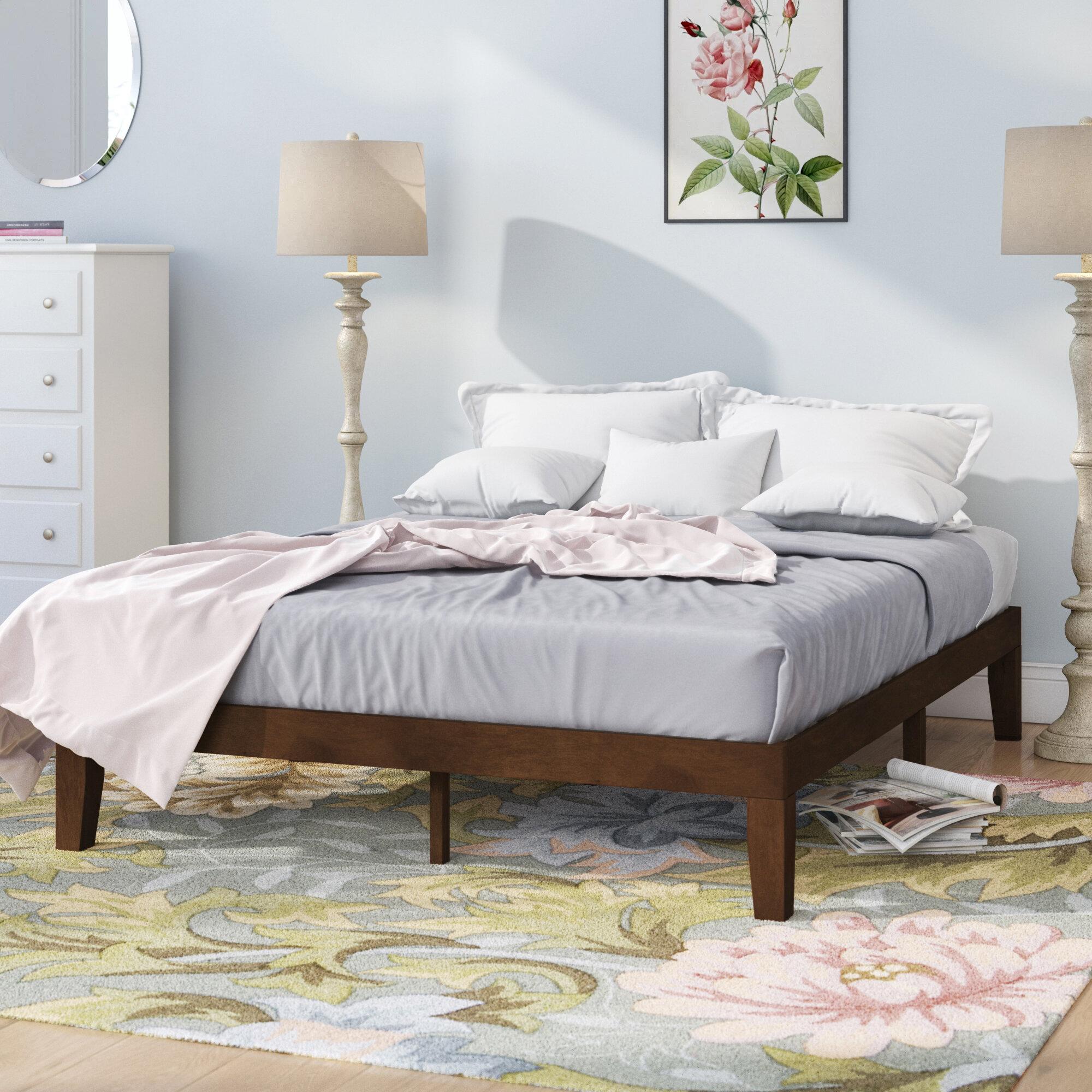 Red Barrel Studio Harlow Solid Wood Platform Bed Reviews Wayfair