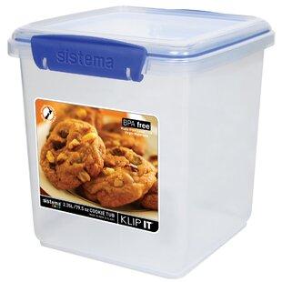 Klip It Cookie Tub 2.5 Oz. Food Storage Container