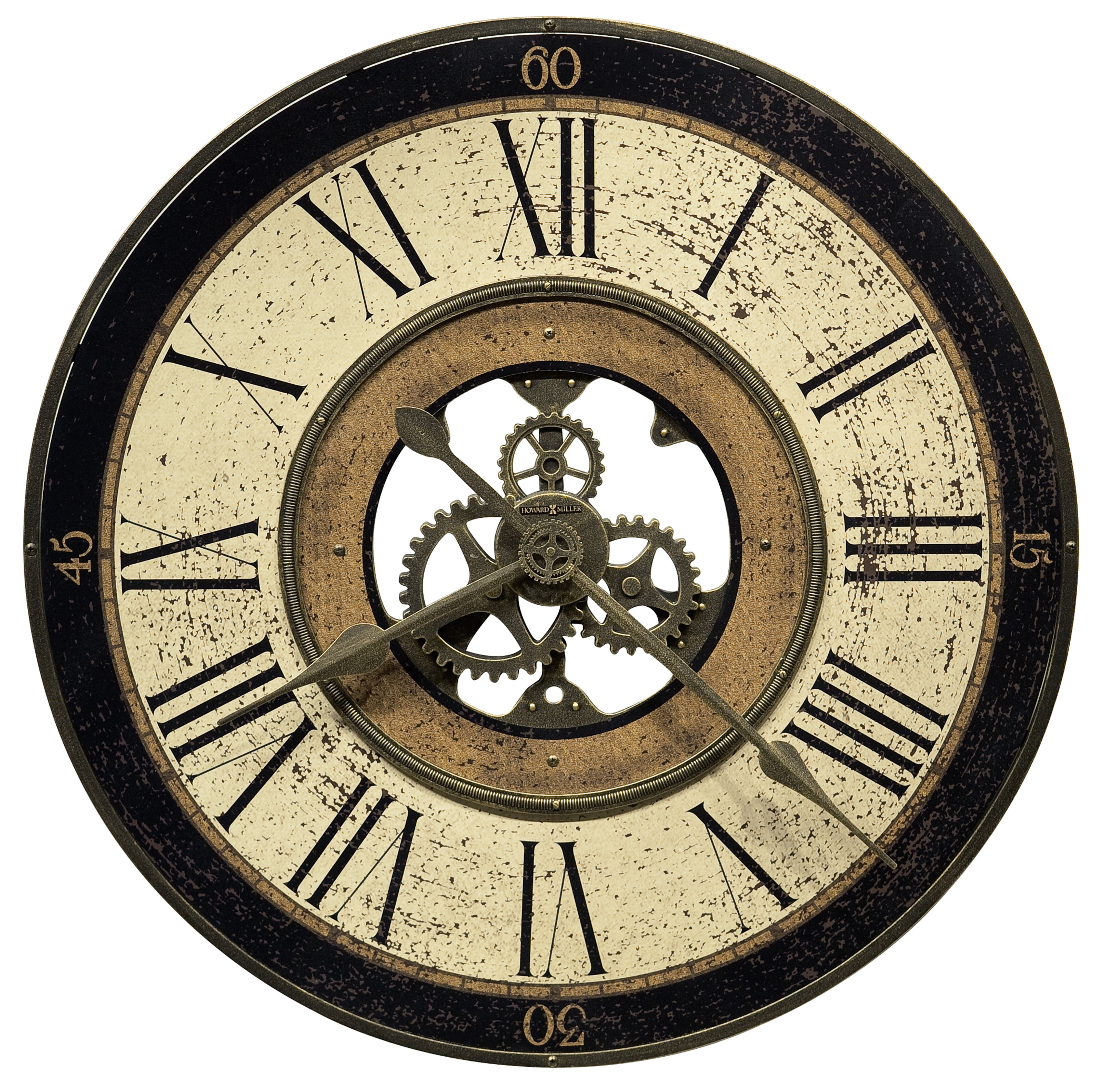 Brass Industrial Wall Clocks You Ll Love In 2021 Wayfair