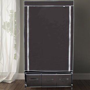 Berns 88cm Wide Portable Wardrobe By Rebrilliant