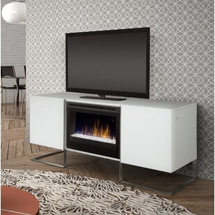 Affordable Chase TV Stand for TVs up to 75 with Fireplace by Dimplex Reviews (2019) & Buyer's Guide