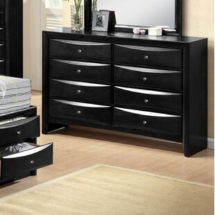 Mulcahey 8 Drawer Dresser