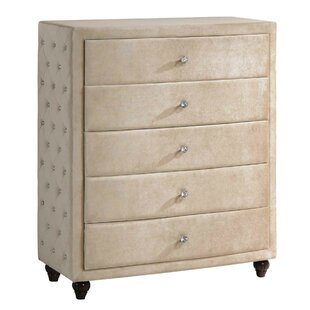 Rosdorf Park Sweeney 5 Drawer Chest