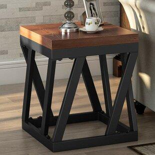 Nelida Rustic End Table