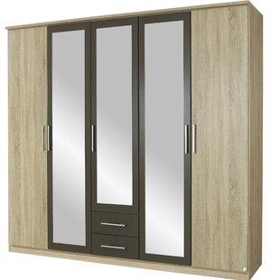 Valence Extra 5 Door Wardrobe By Rauch