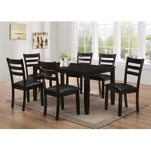 Felipe 7 Piece Dining Set by Latitude Run Fresh