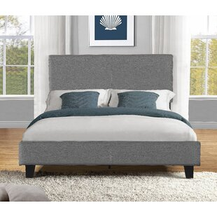 Buy clear Chase Upholstered Platform Bed by Turn on the Brights Reviews (2019) & Buyer's Guide